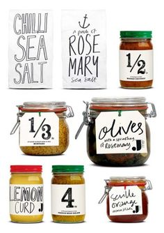"""Jamie Oliver Packaging.- some hand lettering for softening and adding """"character"""""""