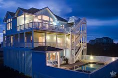 Scarlet Begonias 778 | (6 Bedroom Oceanside House) | Outer Banks Vacation Rentals | Salvo Vacation Rentals |  #OuterBeaches #OBRrentals