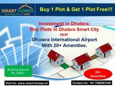 Investment in Dholera- Buy Plots near Airport. #Dholera #DholeraSIR #DholeraSmartCity #Gujarat