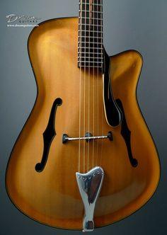 2001-2002 Boaz Guitars SS Jazz - Archtop, Jazz Guitar Archtop Guitar - Boaz Archtop Jazz