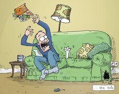 Simon's Cat Vs. the World: The Sofa