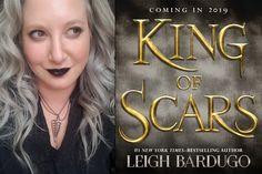 Leigh Bardugo previews her next book,<em>King of Scars</em>