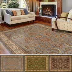 Home Dynamix Royalty Collection Traditional Area Rug