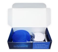 Our Deluxe Home Teeth Whitening System features a powerful blue LED light and a…