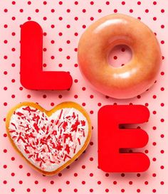 Image result for valentines day donut