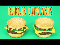 DESSERT TROMPE L'OEIL - BURGER CUPCAKE - CARL IS COOKING - YouTube