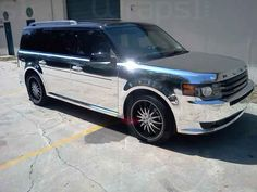 Courtesy of Wraps1.com Ford Flex, Porsche Boxster, Road Runner, Car Wrap, Ford Trucks, Cool Cars, Dream Cars, Vehicles, Nice