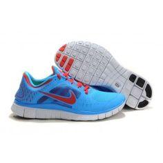 Wholesale Nike Free Run+ 3 Blå Rød Hvid Herre Sko Skobutik | Brand nye Nike Free Run+ 3 Skobutik | Billigt Nike Free Skobutik | denmarksko.com