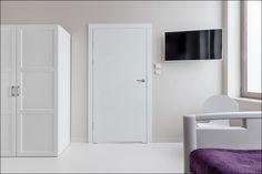 Art Medical Center w Szczecinie projektu biura projektowego M&O STUDIO OSTROWSKA DESIGN. W projekcie wykorzystano nasze drzwi. Decor, Doors, Storage Cabinet, Storage, Tall Cabinet Storage, Cabinet, Furniture, Home Decor