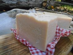Discover the goodness within every bar of  goat's milk handmade soap and pampering yourself with this. goodies ...