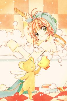 CLAMP - Card Captor Sakura 【Sakura & Kero】