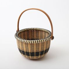 Nantucket Basket 5inch Round Open basket