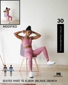 These workouts promote fat loss and maximize the amount of calories being burned both during and after your workout. It takes just four minutes to complete! Fitness Workouts, Full Body Hiit Workout, Gym Workout Videos, Gym Workout For Beginners, Fitness Workout For Women, Easy Workouts, Abs Workout Routines, Exercises, Core