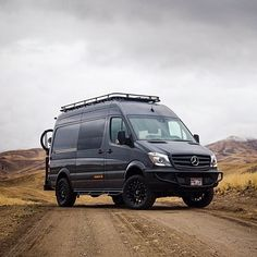 Idaho, USA Mercedes Sprinter @syncvans — Follow our IG pals: @vwbusandcamper @vwbusner @vwphotography @bugbus_net @aircooledmemes