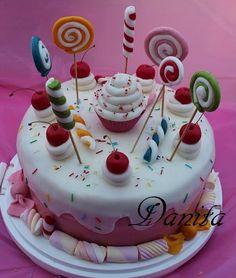 Candy cake per la mia principessa