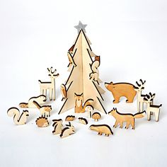 Woodland Advent Calendar