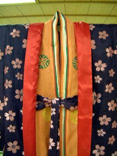"replication of ""koubai no nioi"" kasane no irome kimono worn by Murasaki no Ue in Tale of Genji.  by museum of kyoto in 2001.  http://www.bunpaku.or.jp/info_english.html"