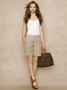 Modern Chino Short - Shorts  Pants & Shorts - RalphLauren.com