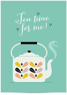 Tea kettle is whistling!