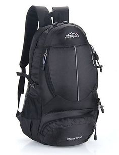 0f6ce76d338a XH G Outdoor Nylon Backpack Hiking Bag Camping Travel Rucksack Sports  Waterproof Pack 35L