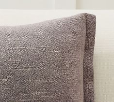 Fold Over Linen Pillow Covers in 2020