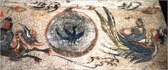 The three legged crow alongside a dragon and phoenix in a korean mural. (Wikipedia Commons)