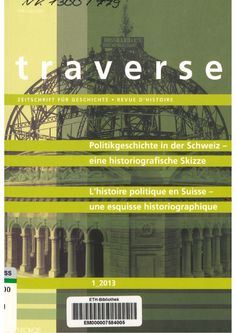 Traverse : Zeitschrift für Geschichte