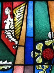 close up of part of stained glass at Coventry Cathedral Coventry Cathedral, Source Of Inspiration, Cathedrals, Colored Glass, Stained Glass, Glass Art, Projects To Try, England, Spaces
