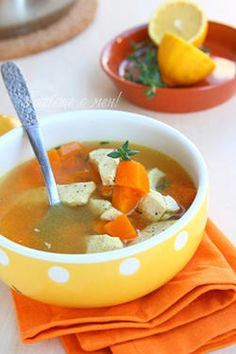 Chicken Soup with Pumpkin (Пилешка супа с тиква)