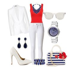 """""""4th of July Fever"""" by mesha-echevarria on Polyvore"""