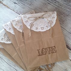 Hey, I found this really awesome Etsy listing at https://www.etsy.com/listing/185075521/rustic-chic-wedding-favors-paper-doily