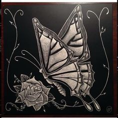 8x8 scratchboard. 2014. #scratchbord #scratchboard #scratchart #art #artwork #custom #blackandwhite #crosshatch #artistsofinstagram #sketch #layers #draw #drawing #create #creative #illustrate #butterfly #roses