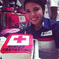 OMNI Pro Fire MERET haciendo presencia con Kayen Hernandez durante su guardia de despedida en Cruz Roja Mexicana Delegación Culiacán: el mejor de los éxitos Kayen! ☺  EMS Mexico | Equipando a los Profesionales