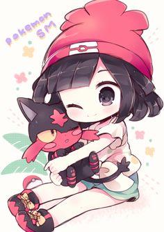 Cute Anime Chibi, Kawaii Chibi, Kawaii Anime, Cute Animal Drawings, Kawaii Drawings, Cute Drawings, Anime Child, Anime Art Girl, Pokemon Human Form