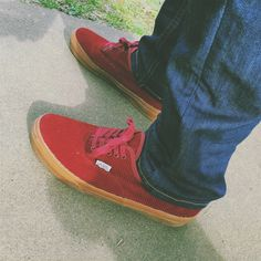 Authentic gum sole vans × beauty and youth