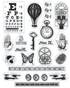 7gypsies-steampunk-stamps