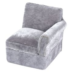 Dollhouse Miniature Monticello Revolving Chair Faux Leather /& Walnut Finish
