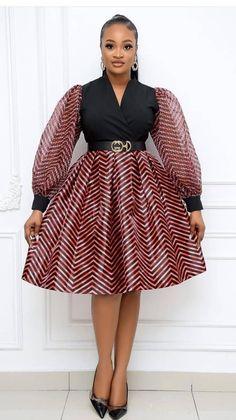 Waist Skirt, High Waisted Skirt, African Fashion, Skirts, Outfits, African Attire, Sweet Dress, High Waist Skirt, Skirt