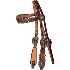 NRS Double J Headstall