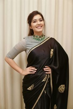 Bollywood,Tollywood news,events, actress gallery,photos Stylish Blouse Design, Fancy Blouse Designs, Sari Blouse Designs, Sari Design, Sari Dress, The Dress, Indian Designer Outfits, Indian Outfits, Belle