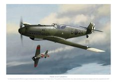 A Legion Condor Messerschmitt Bf 109B downs a Republican Polikarpov I-16 Type 6 over the coasts of Asturias (Spain) during the North Campaign, early september 1937.
