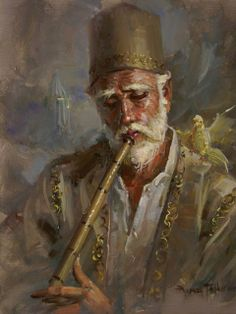 Awesome! Turkish painter, Remzi Taşkıran!!