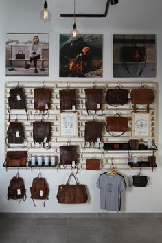 fombrand mall of africa bespoke shopfitting modular display interior design spruce leather freedom of movement Joburg panel