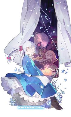 Howl's Moving Castle - Sophie and Howl