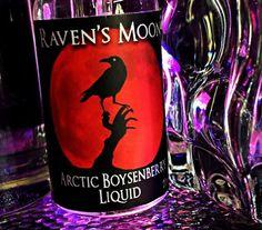 Our Raven's Moon Vapor Arctic Boysenberry Eliquid info@ravensmoonvapor.com
