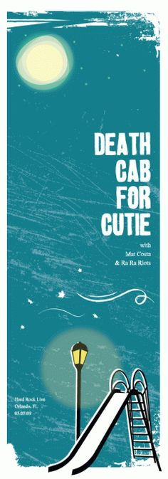 Death Cab For Cutie  Promotional Mini Posters