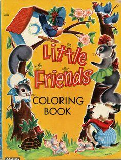 vintage coloring books | Vintage coloring book | Flickr - Photo Sharing!