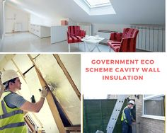 Government Eco Scheme Cavity Wall Insulation is useful for the reduction of heat loss, leading to a warmer house and reduced energy costs. Contact us for know more. Cavity Wall Insulation, Cavities, Save Energy, House, Home Decor, Homemade Home Decor, Decoration Home, Home Decoration