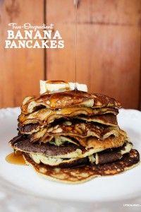 Two Ingredient Banana Pancakes (Gluten & Dairy Free)