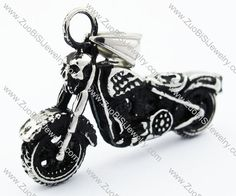 Stainless Steel Motor Bicycle Pendant - JP170183  Item No. : JP170183 Market Price : US$ 32.90 Sales Price : US$ 3.29 Category : Biker Pendants